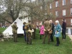 The 10th Essex Living History have been brilliant at engaging visitors at the ROYAL CHELSEA HOSPITAL