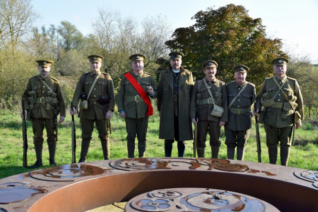 Remembrance Day 2019 at Hornchurch Country Park