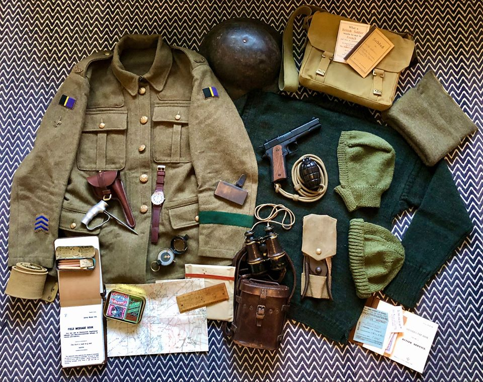 WW1 Scout Equipment