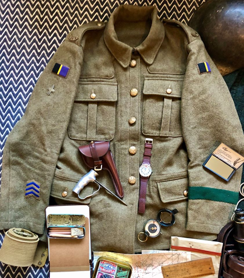 WW1 Scout Equipment 2