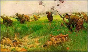 WW1 Infantry Painting